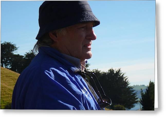 On Location Otago Peninsula Greeting Card by Terry Perham