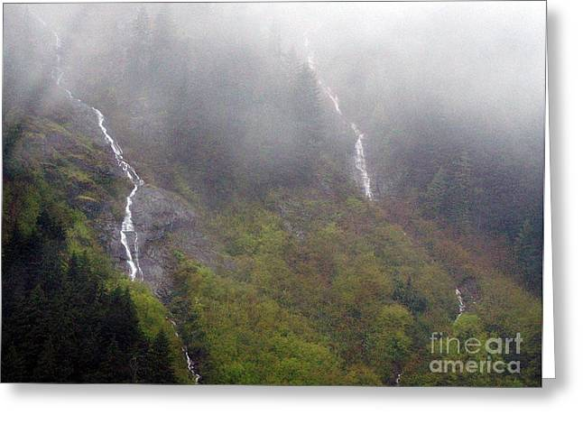 On Snoqualmi Pass Greeting Card by Erica Hanel