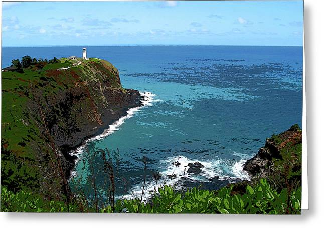 On The Point Greeting Card by Joanne Riske