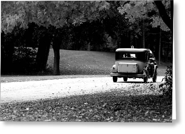 On The Road Again Greeting Card by Kay Novy
