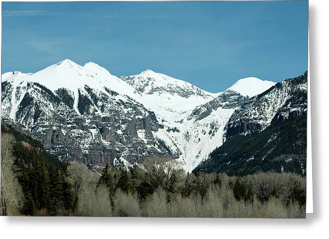 On The Road To Telluride Greeting Card