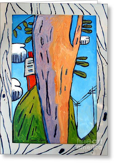 On Top Of Old Smoky Pa Greeting Card by Charlie Spear