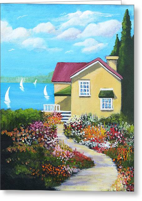 One Sunny Afternoon Greeting Card