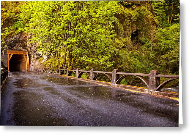 Oneonta Tunnel Greeting Card