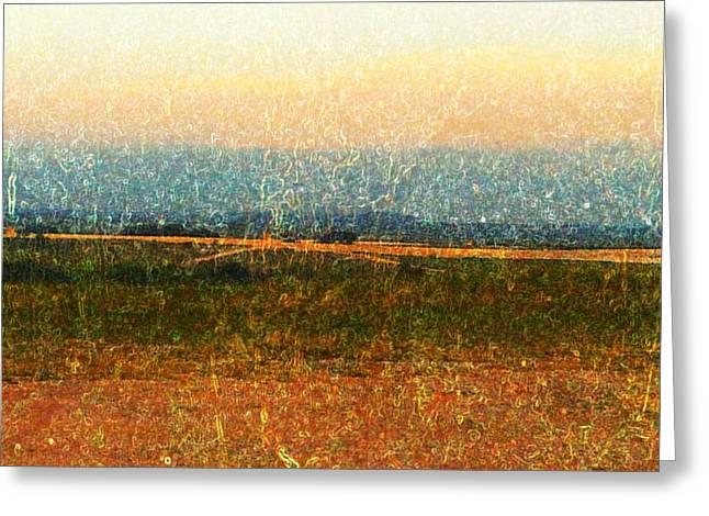 Open Horizon Greeting Card by Denisse Del Mar Guevara