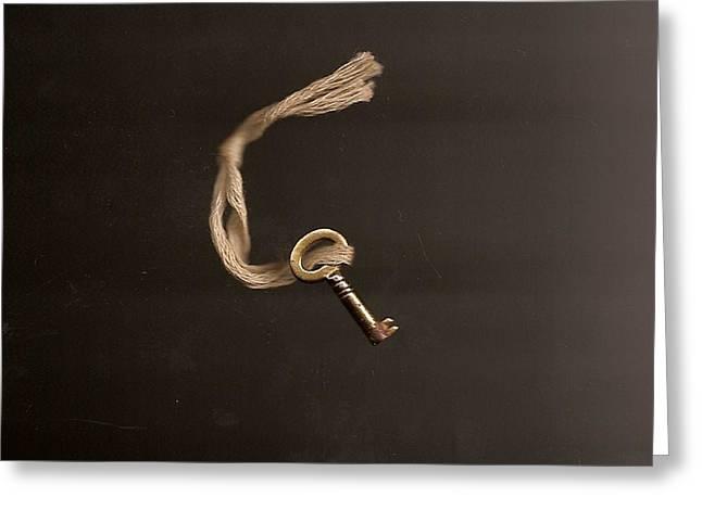 Open Or Lock Greeting Card