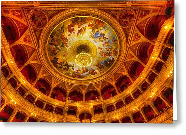Opera-budapest Greeting Card by John Galbo