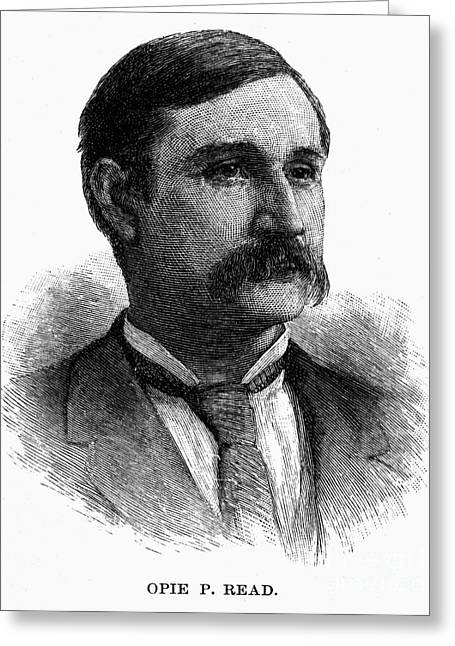 Opie Pope Read (1852-1939) Greeting Card by Granger