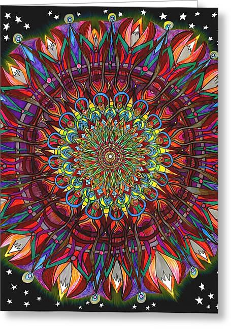 Optimystic Greeting Card