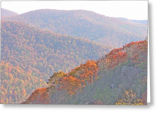 Orange Hills Greeting Card