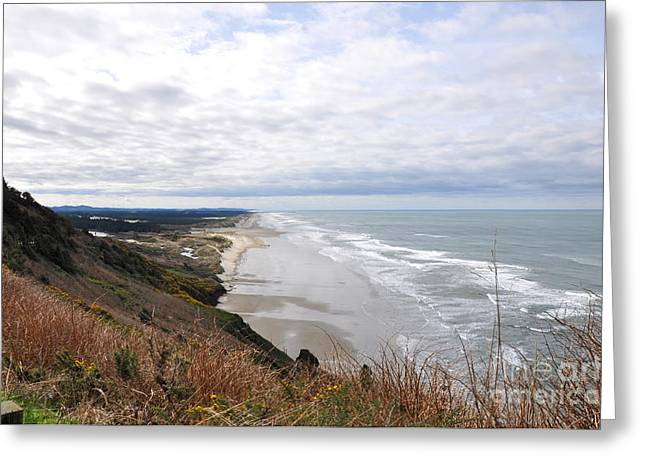 Oregon Coast Majestic View 1 Greeting Card by Tanya  Searcy