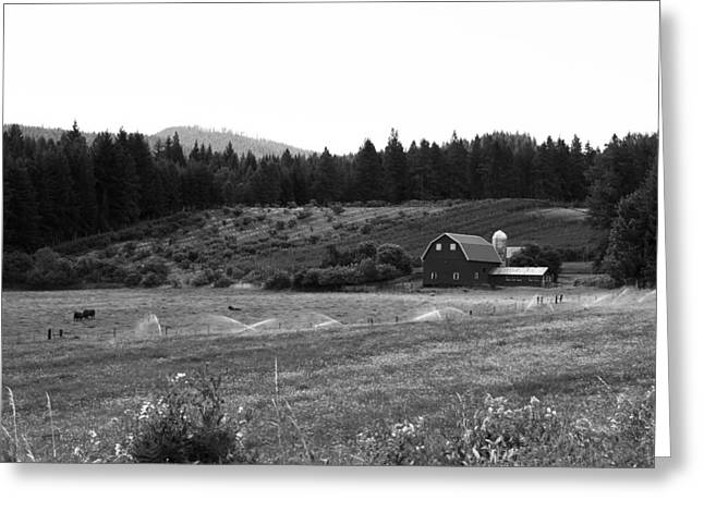Oregon Farm Greeting Card