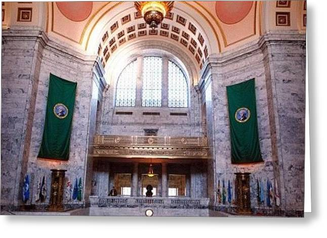 Oregon State Capitol Greeting Card