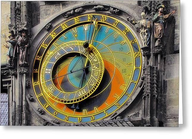 Orloj - Astronomical Clock - Prague Greeting Card