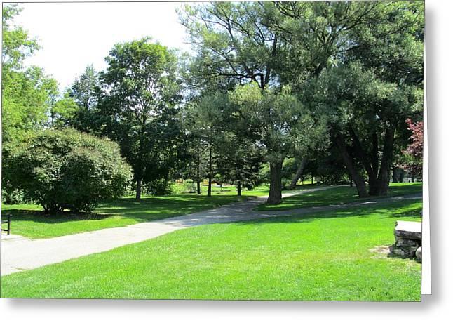 Oshawa Botanical Garden 2 Greeting Card by Sharon E Steinhaus