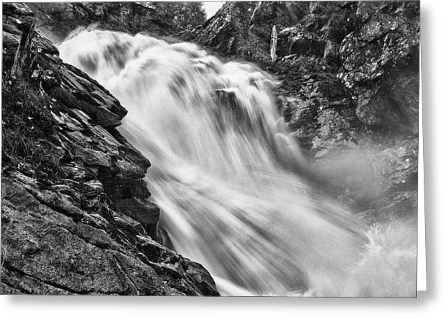 Osterbro Falls Greeting Card by A A