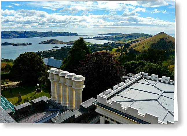 Otago From Larnach Castle Greeting Card