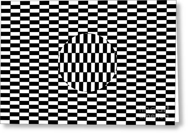 Ouchi Illusion Greeting Card