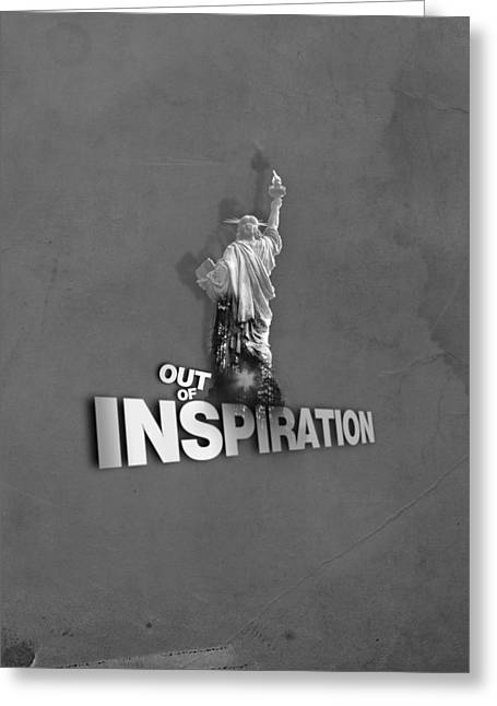 Out Of Inspiration Greeting Card by Daniel Stephen Gallery