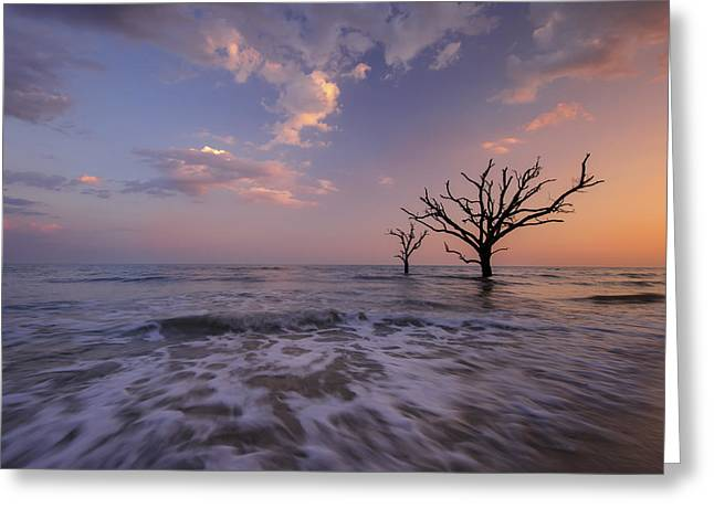 Out To Sea Greeting Card by Joseph Rossbach