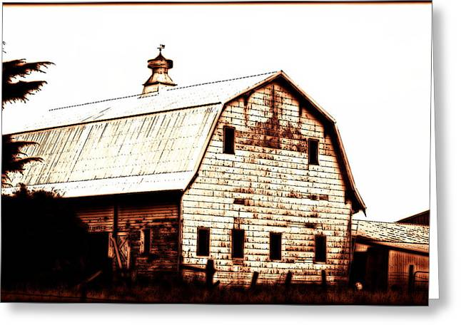 Out West Greeting Card