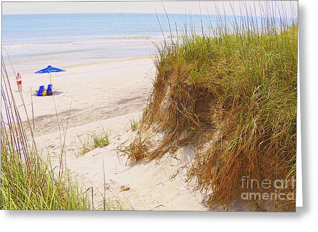 Greeting Card featuring the photograph Outerbanks by Lydia Holly