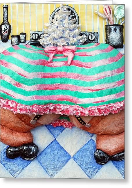 Oven Fresh Buns Greeting Card