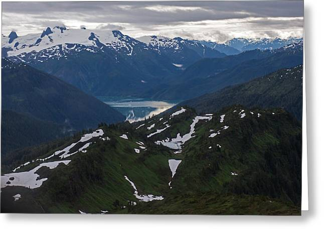 Over Alaska Greeting Card by Mike Reid