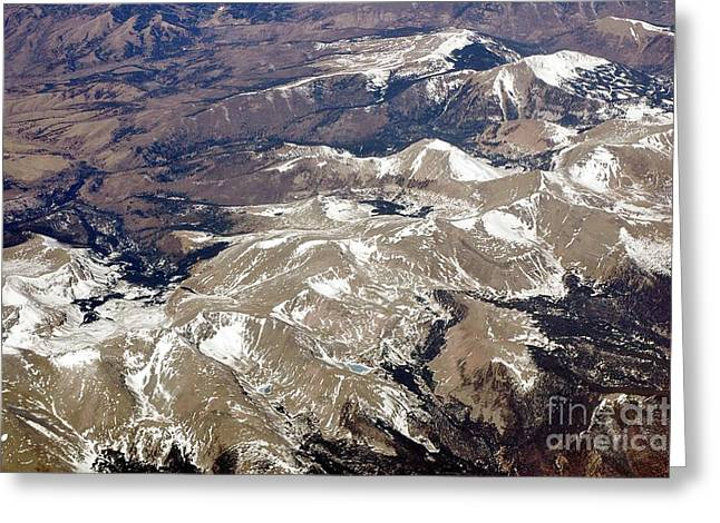 Over The Rockies Greeting Card by Kathleen Struckle