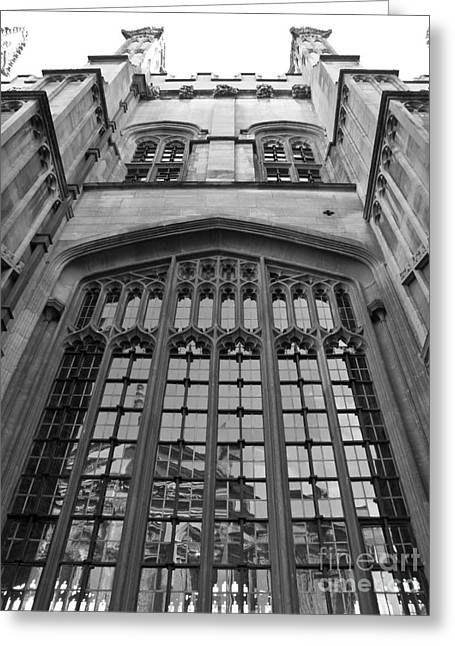 Oxford - Architecture Greeting Card by Jo