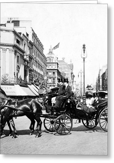 Oxford Street - London - England - C 1909 Greeting Card by International  Images