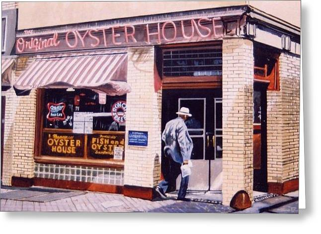 Oyster  House Greeting Card by James Guentner