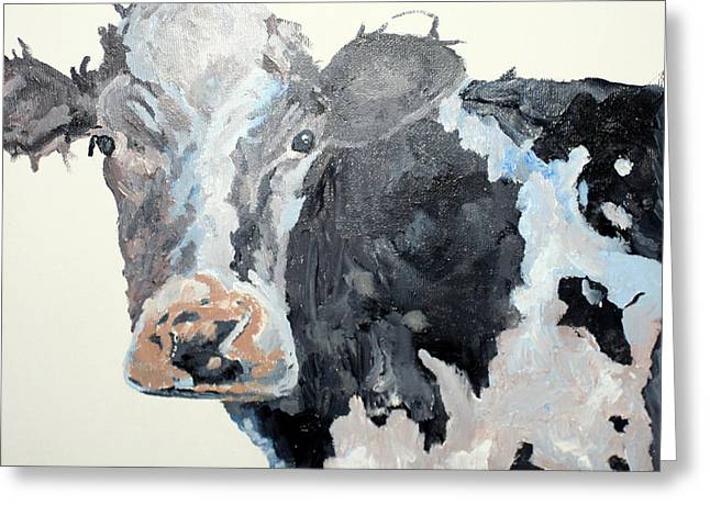 Pa Cow Study 2 Greeting Card