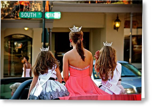 Greeting Card featuring the photograph Pageant South by Jim Albritton