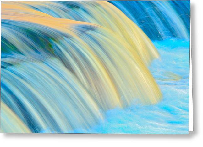 Painted Falls Greeting Card