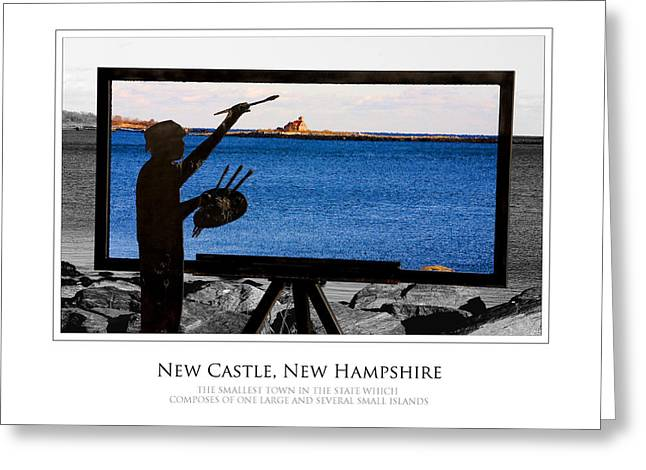 Painter Greeting Card by Jim McDonald Photography