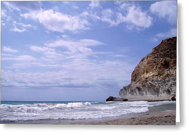 Paisajes Del Cabo De Gata Greeting Card by Eire Cela