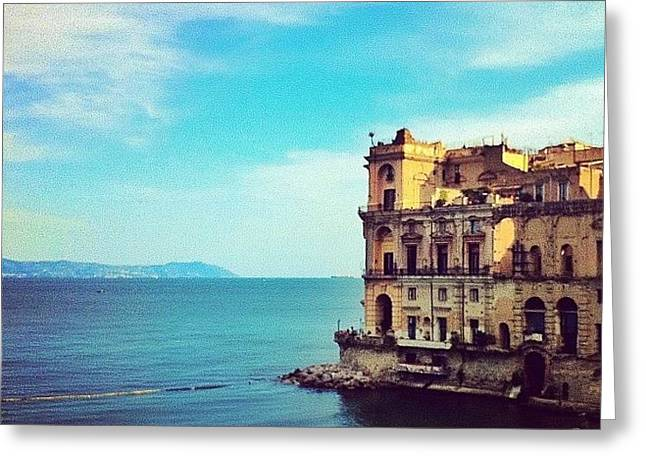 Palazzo Donn'anna - Napoli Italia Greeting Card by Gianluca Sommella