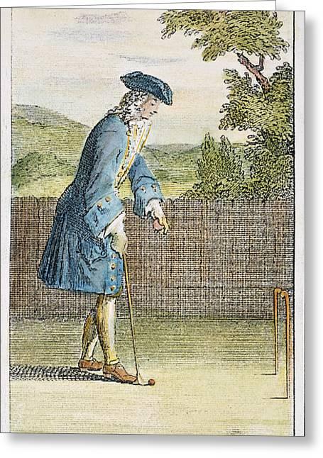 Pall Mall, 1717 Greeting Card