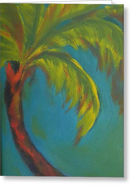 Palm Fusion Greeting Card by Lacey Wingard