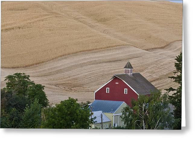 Palouse Wa Farm Greeting Card