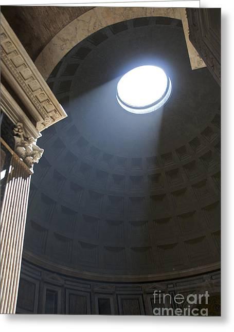 Pantheon. Rome Greeting Card by Bernard Jaubert