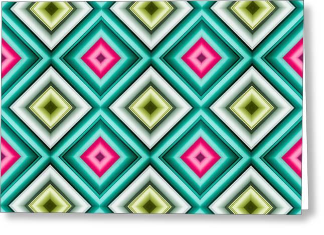 Paper Symmetry 2 Greeting Card by Hakon Soreide
