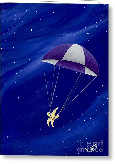 Para-shooting Star 2 Greeting Card