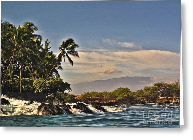 Greeting Card featuring the photograph Paradise Found by Bette Phelan