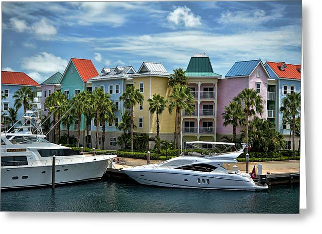 Greeting Card featuring the photograph Paradise Island Style by Steven Sparks
