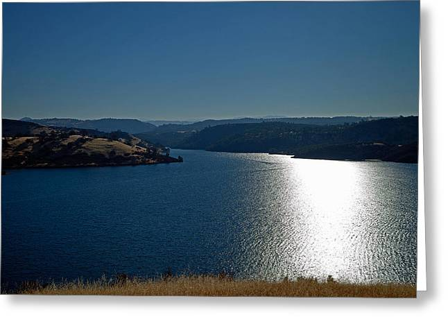Pardee Lake Greeting Card by Joe Fernandez