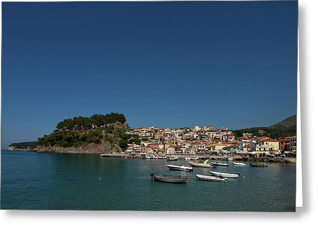 Parga  Greeting Card