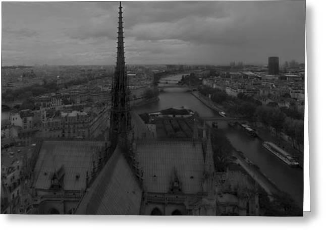 Paris Dh 1 Greeting Card by Wessel Woortman