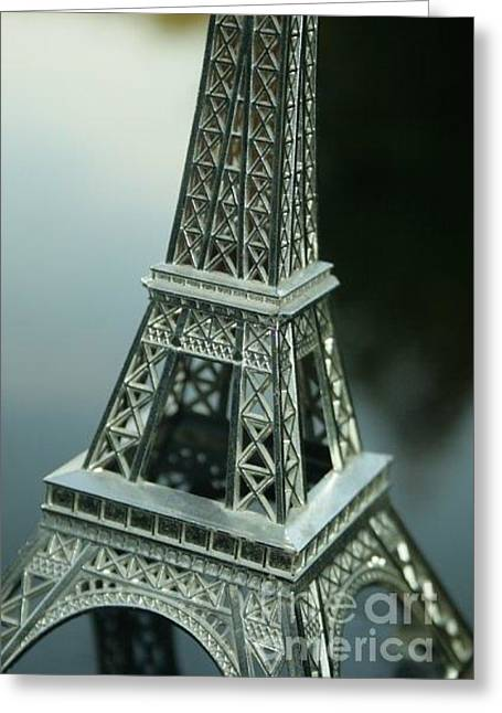 Paris In Stockholm Greeting Card by Derya  Aktas